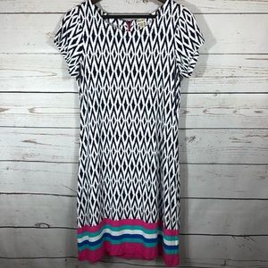 Hatley Dresses - Hatley. Ikat T-Shirt Dress.